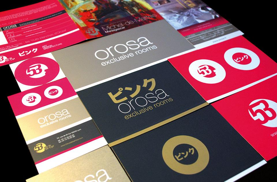 Orosa Branding